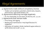 illegal agreements1
