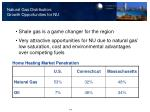 natural gas distribution growth opportunities for nu