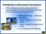 introduction to structured transactions1