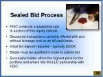 sealed bid process