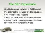 the okc experience