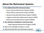 about the retirement systems