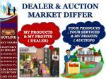 dealer auction market differ