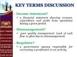 key terms discussion1