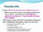 penalty info