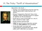 vi the tricky tariff of abominations1