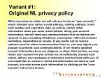 variant 1 original nl privacy policy