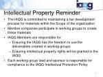 intellectual property reminder