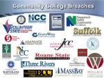community college breaches