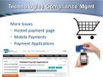 technologies compliance mgmt