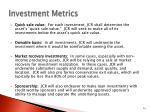 investment metrics1