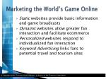 marketing the world s game online3
