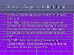 georgia acquires indian lands