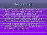 georgia roads