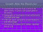 growth after the revolution