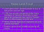 yazoo land fraud