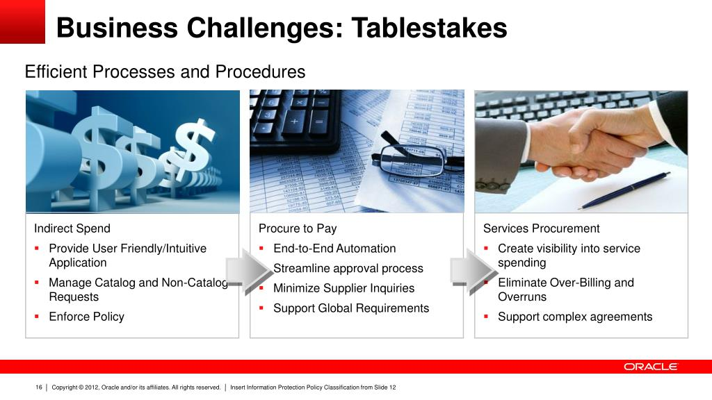 PPT - Oracle Advanced Procurement: Strategy, Update and