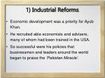 1 industrial reforms