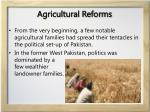 agricultural reforms1