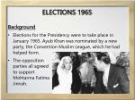 elections 1965