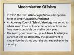 modernization of islam