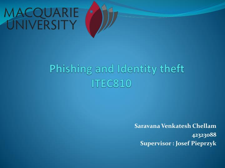 phishing and i dentity theft itec810 n.
