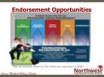 endorsement opportunities