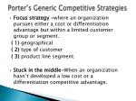 porter s generic competitive strategies2