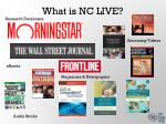 what is nc live2