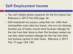 self employment income1