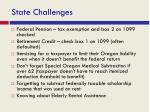 state challenges