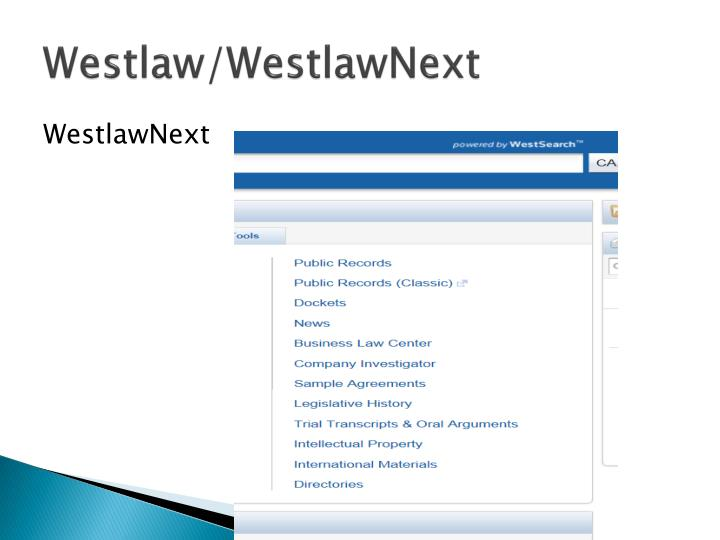 Westlaw/