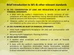 brief introduction to sa s other relevant standards2