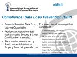 compliance data loss prevention dlp