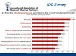 idc survey