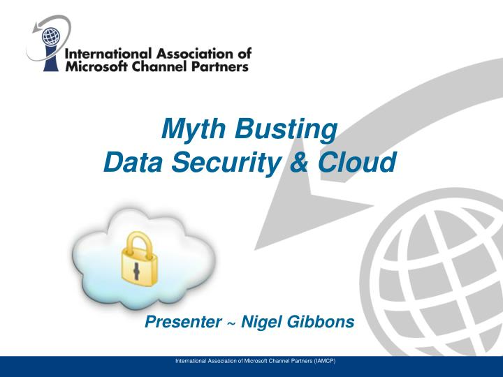 myth busting data security cloud n.