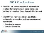 snp 4 care transitions1
