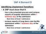snp 4 element d