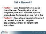 snp 4 element f1