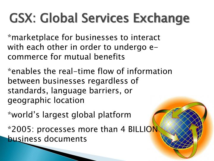 GSX: Global Services Exchange