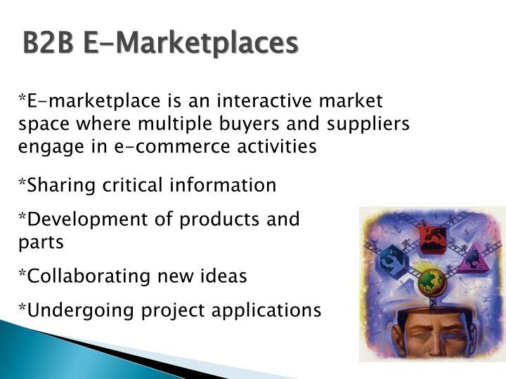 B2B E-Marketplaces
