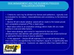 risk management and the business process evaluation criteria2