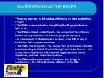 understanding the roles