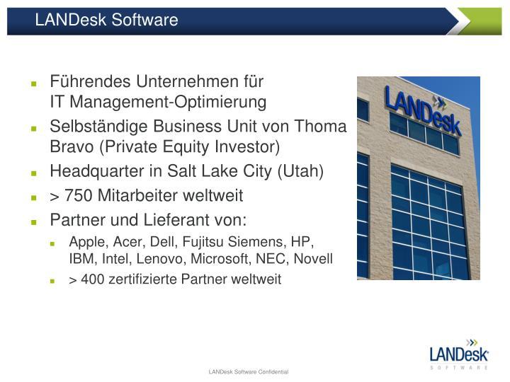 LANDesk Software