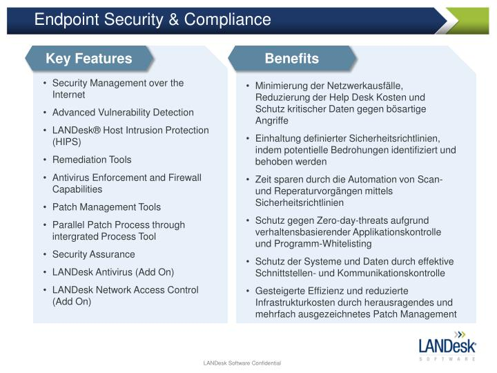 Endpoint Security & Compliance