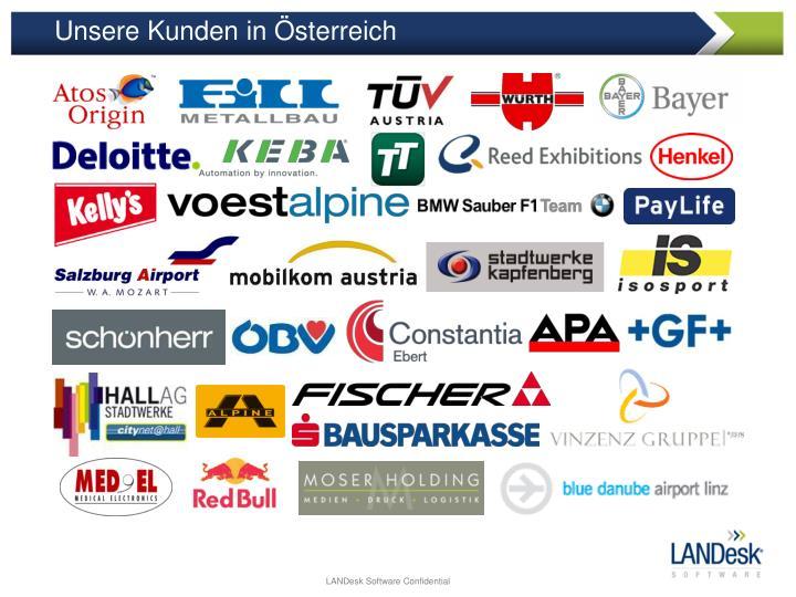 Unsere Kunden in Österreich