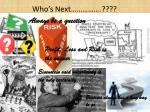 who s next