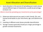 asset allocation and diversification