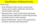 classification of mutual funds3