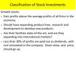 classification of stock investments1